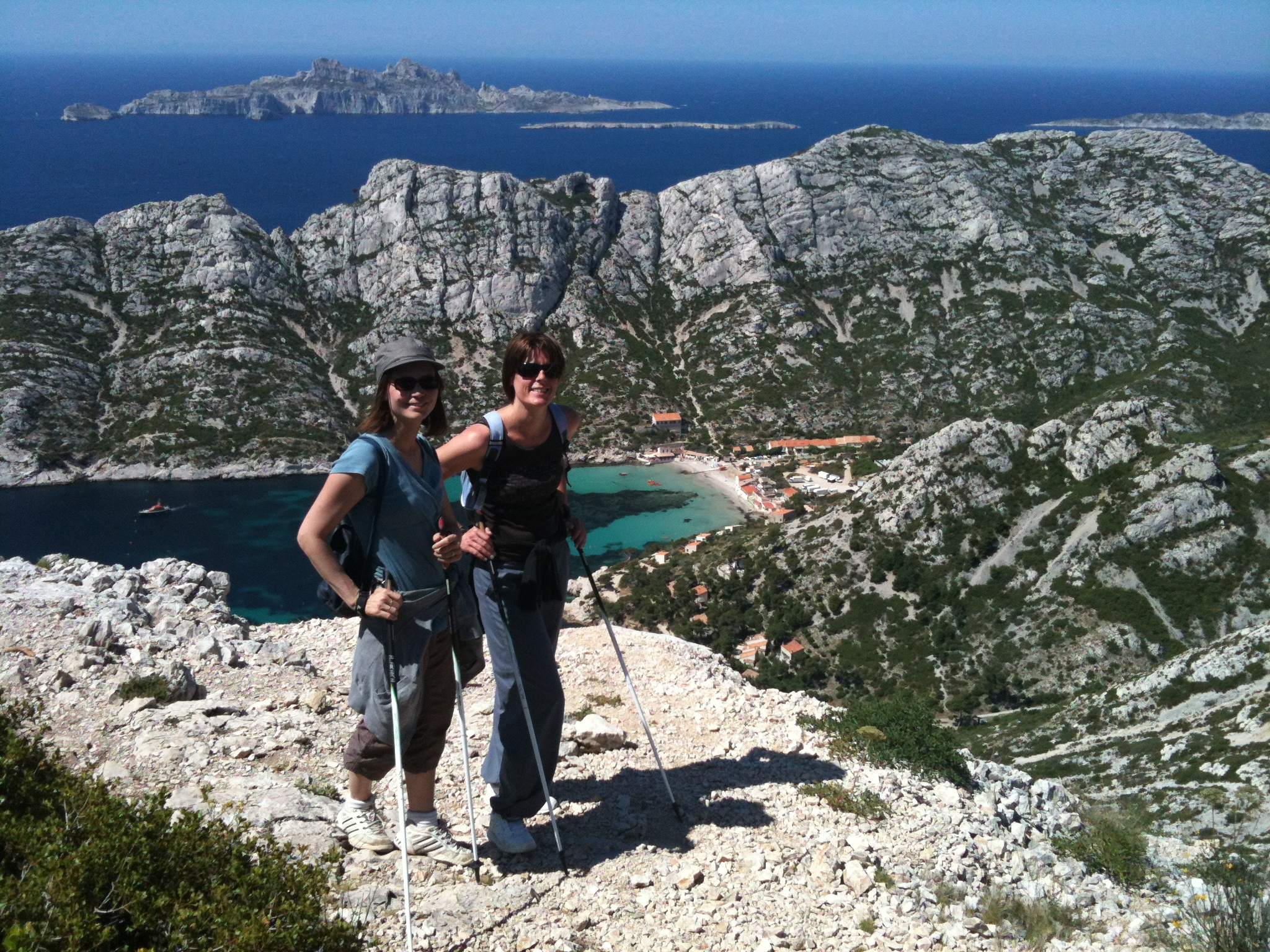 outdoor fitness calanques